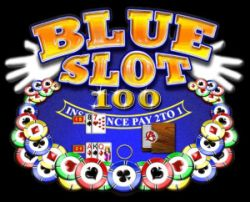 blue slot 100