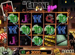 Uno dei simboli della slot machine online Al Capone