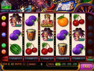 La pagina dei trucchi della slot machine Paradise