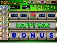 Usa i trucchi e vinci alla slot machine Terza Dimensione
