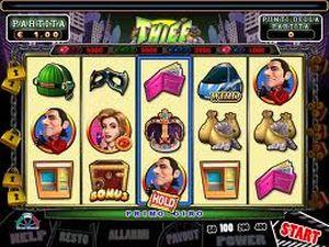 La pagina dei trucchi della slot machine Thief (il Ladro)